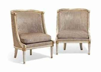 a_pair_of_directoire_gray-painted_and_parcel-gilt_ copy