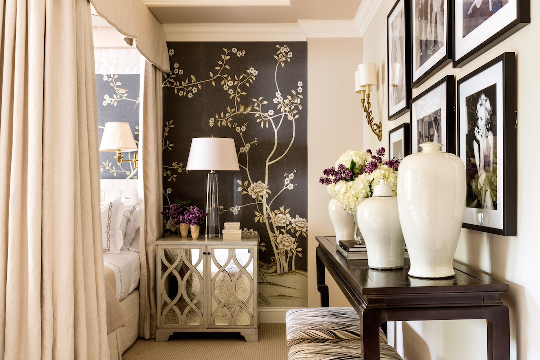 Selected work michael hampton inc interior design for Chinoiserie design